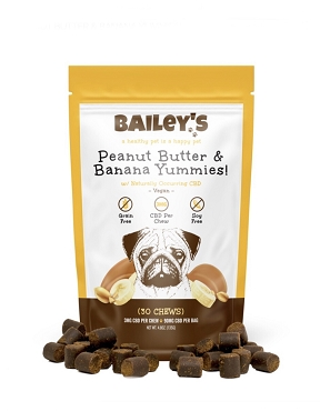 Bailey's Peanut Butter & Banana Yummies! 30 Count Bag