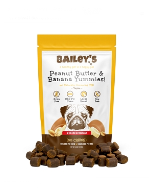 Bailey's Peanut Butter & Banana Yummies! Extra Strength Chew